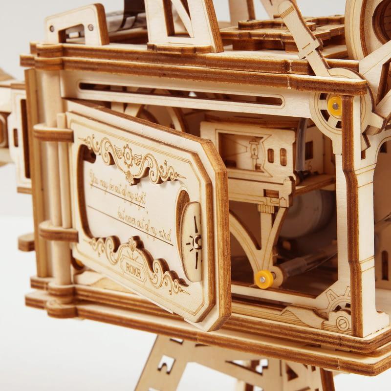 robotime vitascope movement assembled diy mechanical model 2