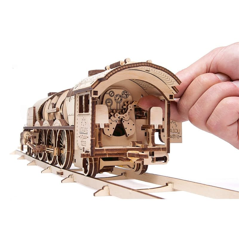 04. Ugears V Express Steam Train with Tender