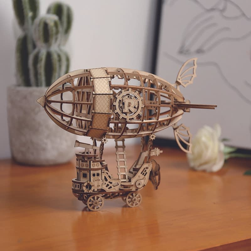airship modern 3d wooden puzzle 6 1 1