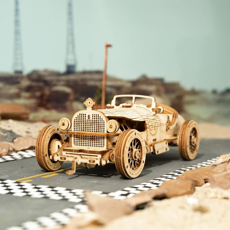 H248a6ccb86be4d4692ae2154139d787aXGrand Prix Car DIY Scale Model Vehicle
