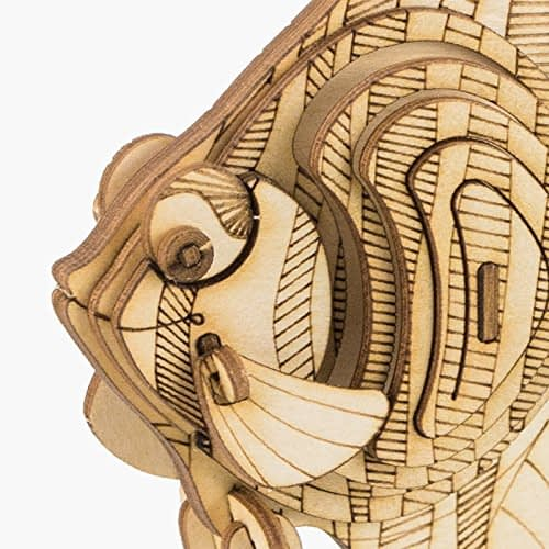 angel fish modern 3d wooden puzzle