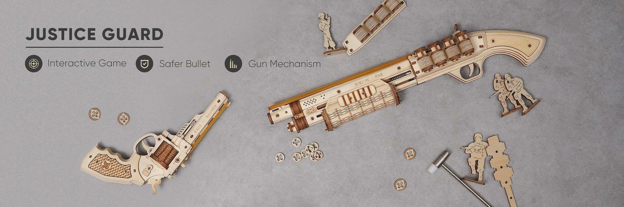 Wooden Gun Models