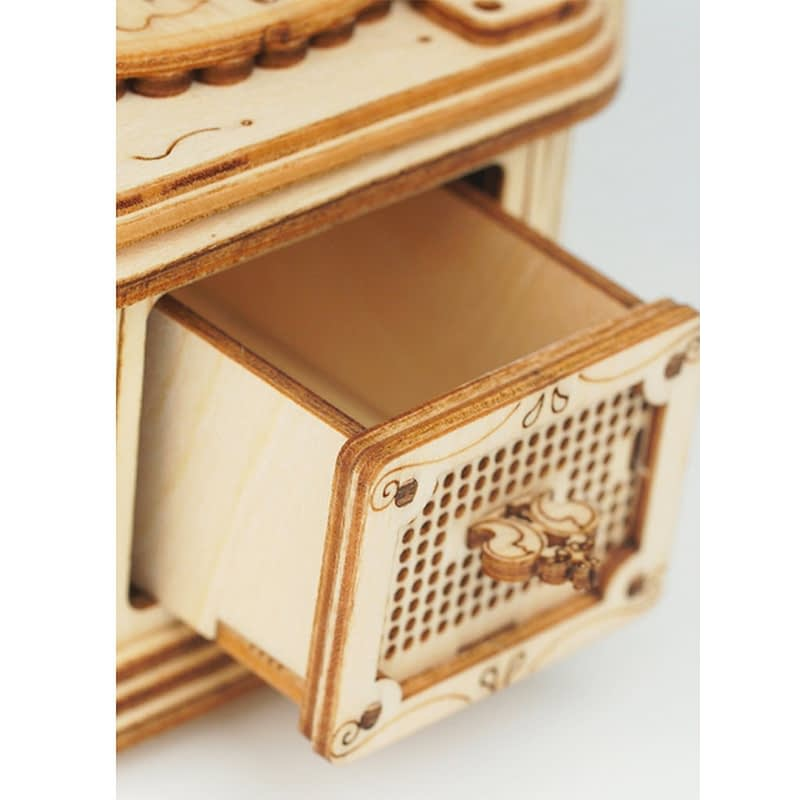 gramophone modern 3d wooden puzzle