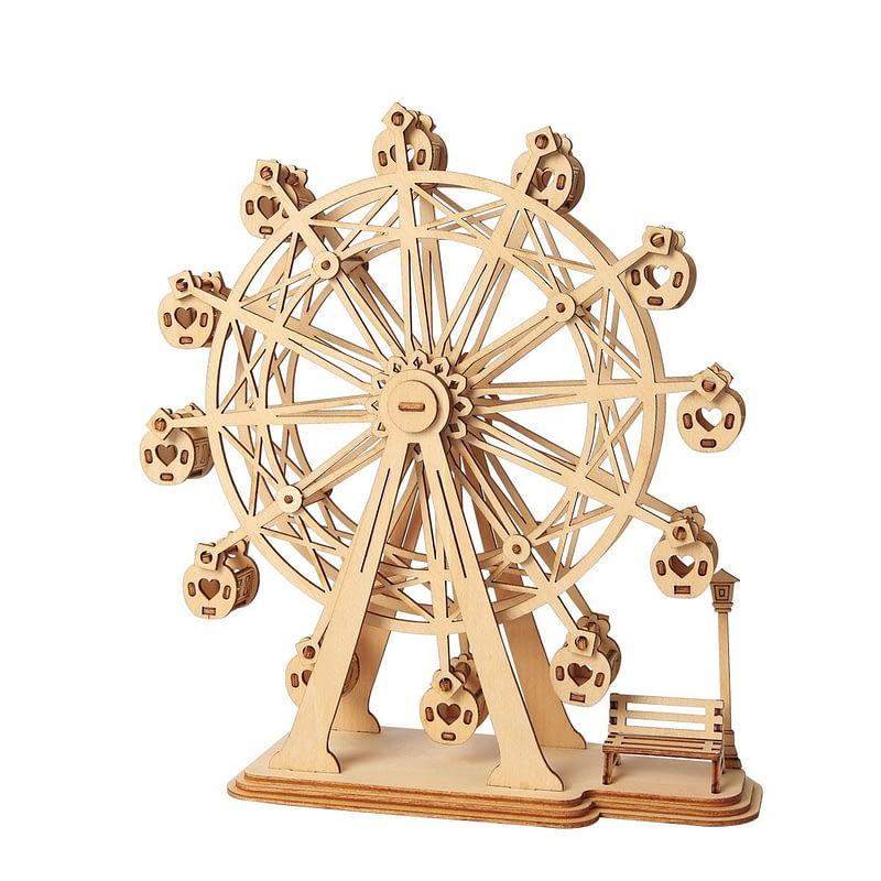 ferris wheel modern 3d wooden puzzle 2