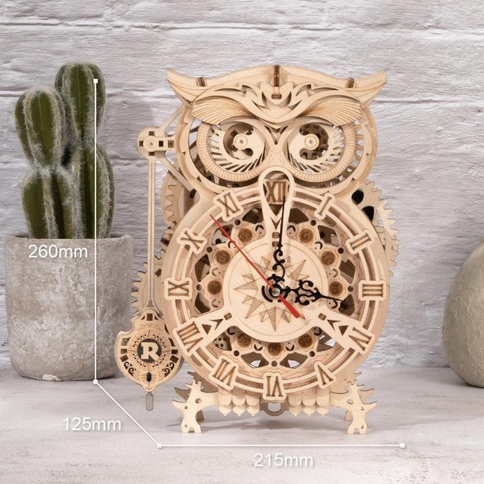 Robotime Owl Clock LK503 700x d8b4499d b9c0 446d 9021 94d28720ff7b