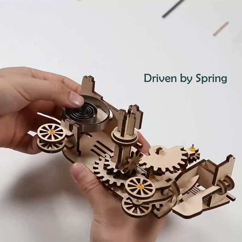 robotime air vehicle movement assembled mechanical model 3