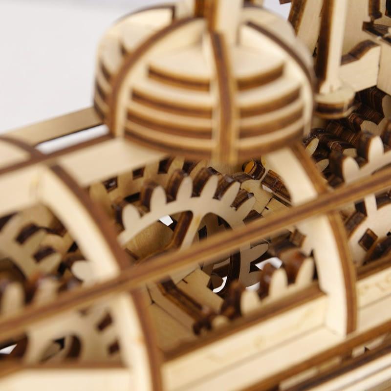 robotime locomotive movement assembled diy mechanical model 7
