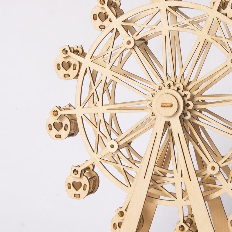 ferris wheel modern 3d wooden puzzle