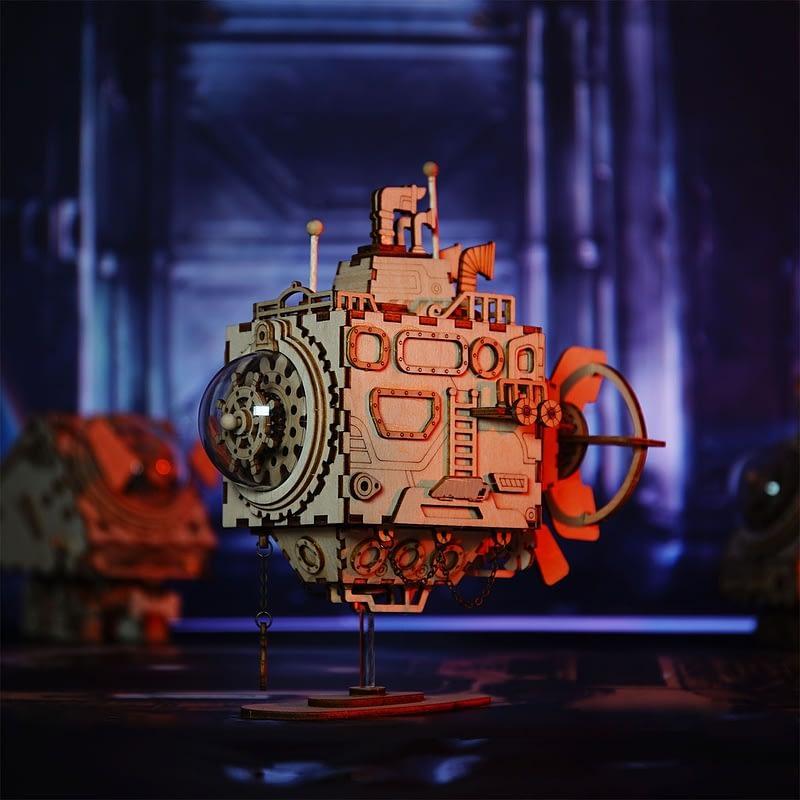 submarine steampunk music