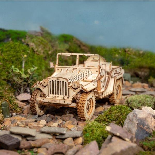 H81a313c9442746709d7ef2b5d1f9f241R 600x600Army Field Car DIY Scale Model Vehicle