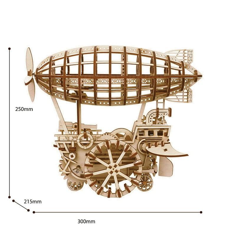 robotime air vehicle movement assembled mechanical model 6