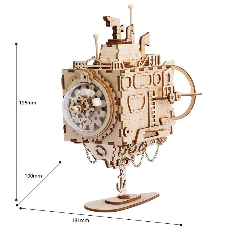 submarine steampunk music box 2