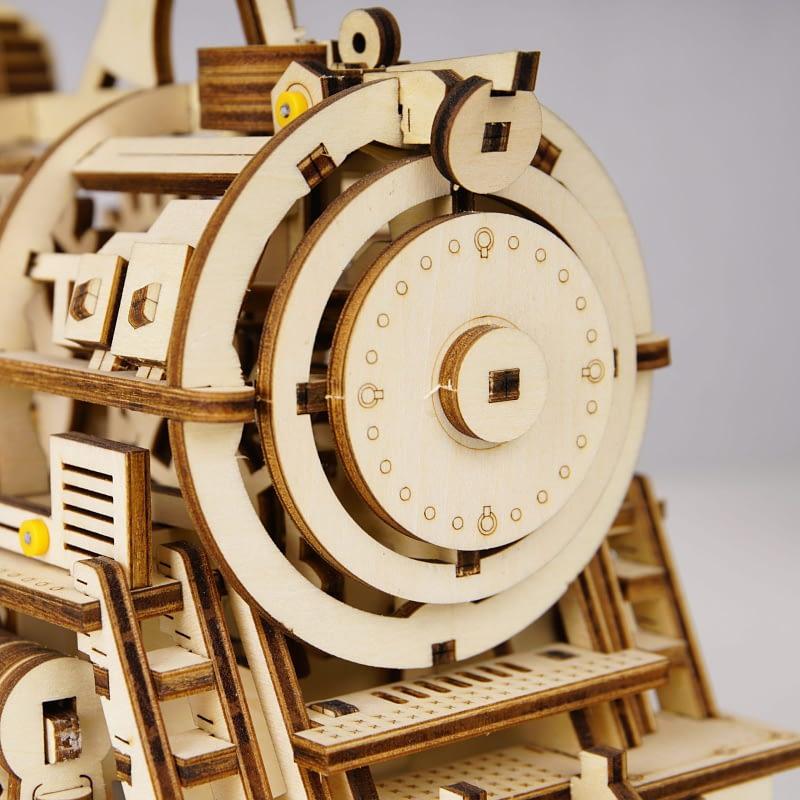 robotime locomotive movement assembled diy mechanical model 6
