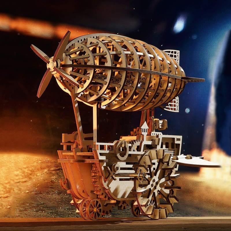robotime air vehicle movement assembled mechanical model 2
