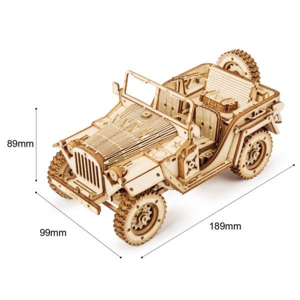 H801c09910bd641d58504a8cf52d3ec9bd 600x600Army Field Car DIY Scale Model Vehicle