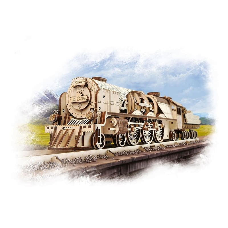 06. Ugears V Express Steam Train with Tender