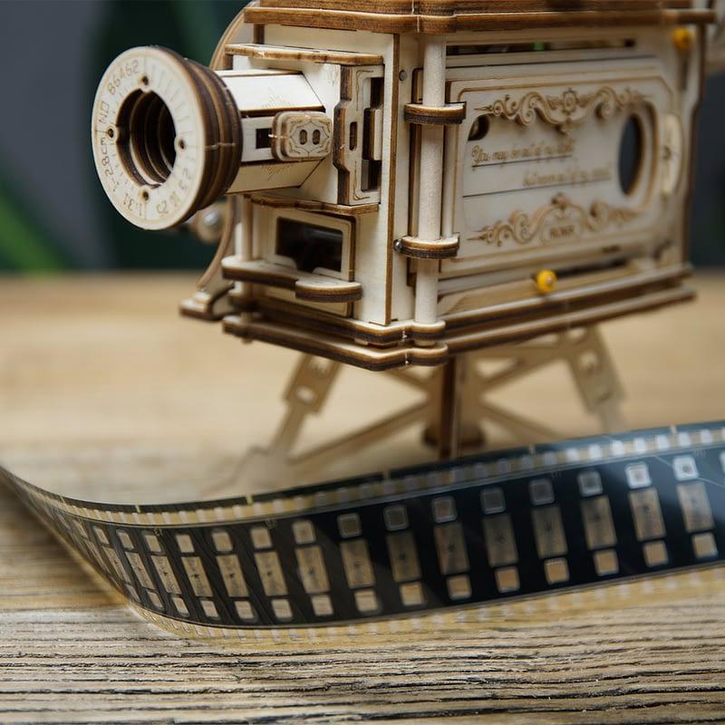robotime vitascope movement assembled diy mechanical model 3
