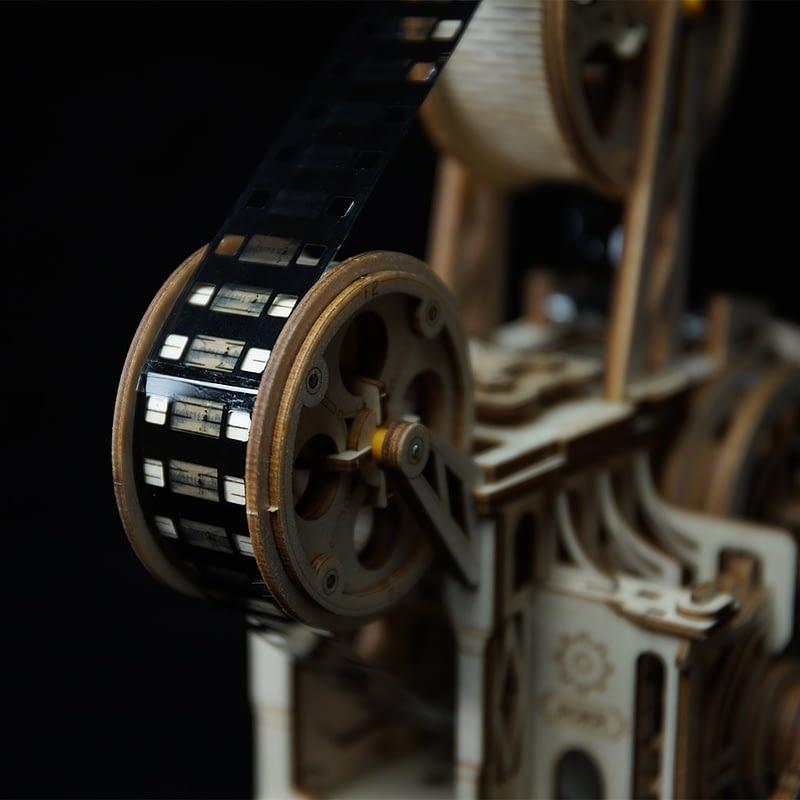 robotime vitascope movement assembled diy mechanical model 4
