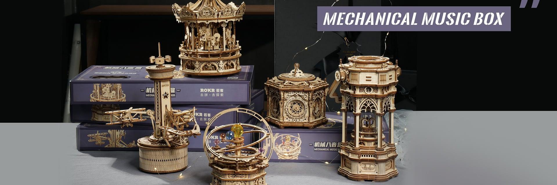 DIY Mechanical Music Box