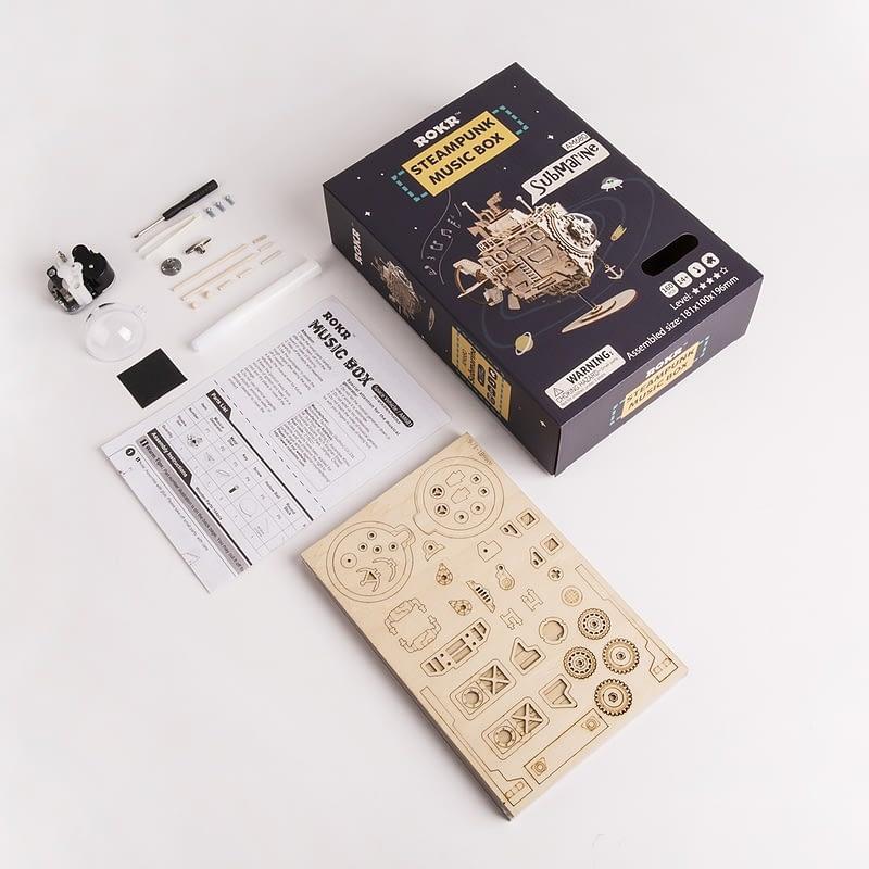 submarine steampunk music box 4