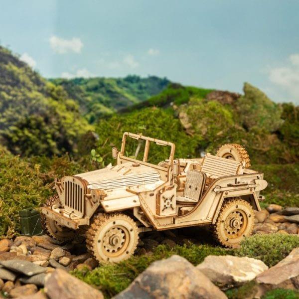 Hd5a6bc2635834eb29f1ba086a0c0d2a3q 600x600Army Field Car DIY Scale Model Vehicle
